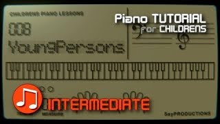Young Persons Guide to the Orchestra Theme (Purcells Rondeau) - Piano Tutorial