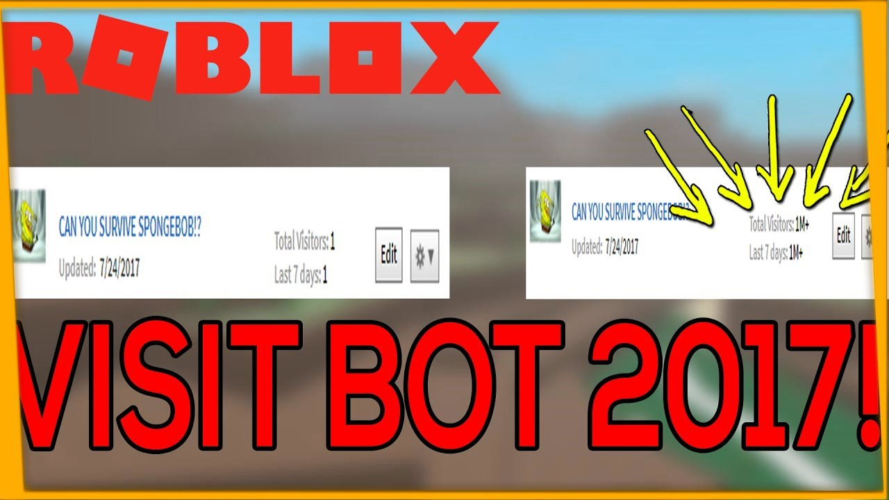 Roblox Game Visit Bot 2018 Fast Op Roblox Bot Risits Visit Bot Mac Win Support Youtube