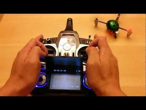 Walkera QR LadyBird V2 FPV 5805 Devo F7 Review