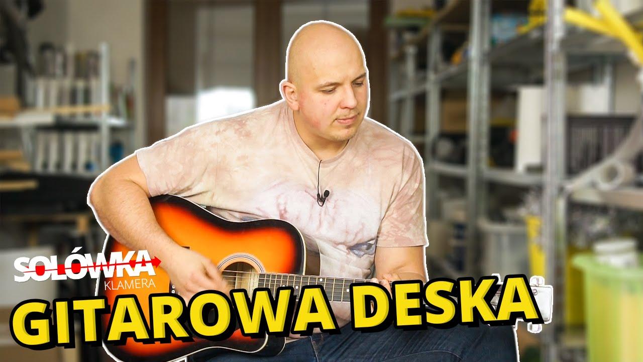 Jak zrobić gitarową deskę klozetową