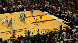 [HD] NBA 2K13 Demo Gameplay - Miami Heat vs Oklahoma City Thunder (XBOX360)