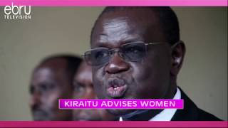 Kiraitu Murungi's Interesting Advice To Women About Empowerment