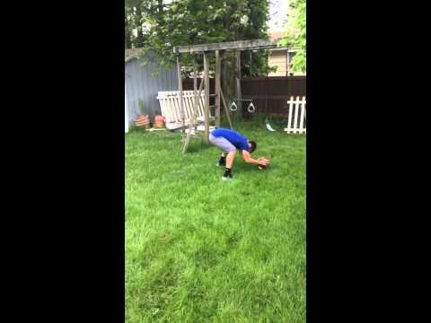 Brian McNamara Long snapper trick shots