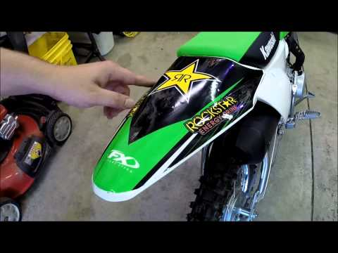 KLX110L Graphics Kit Factory Effex 2015