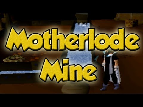 Runescape 2007 Motherlode Mine Guide - AFK Mining XP + Money Maker