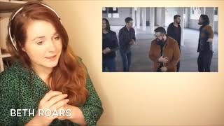 """Youtuber's Reaction Comp: """"End of the Road"""" by Home Free"""