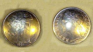 100 Lire of 1991
