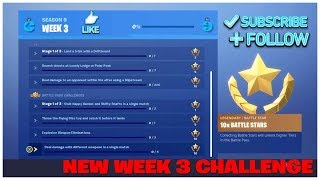 FORTNITE NEW SEASON 9 WEEK 3 CHALLENGE & NEW BUCKETS EMOTE SHOWCASE & AVAILABLE NOW