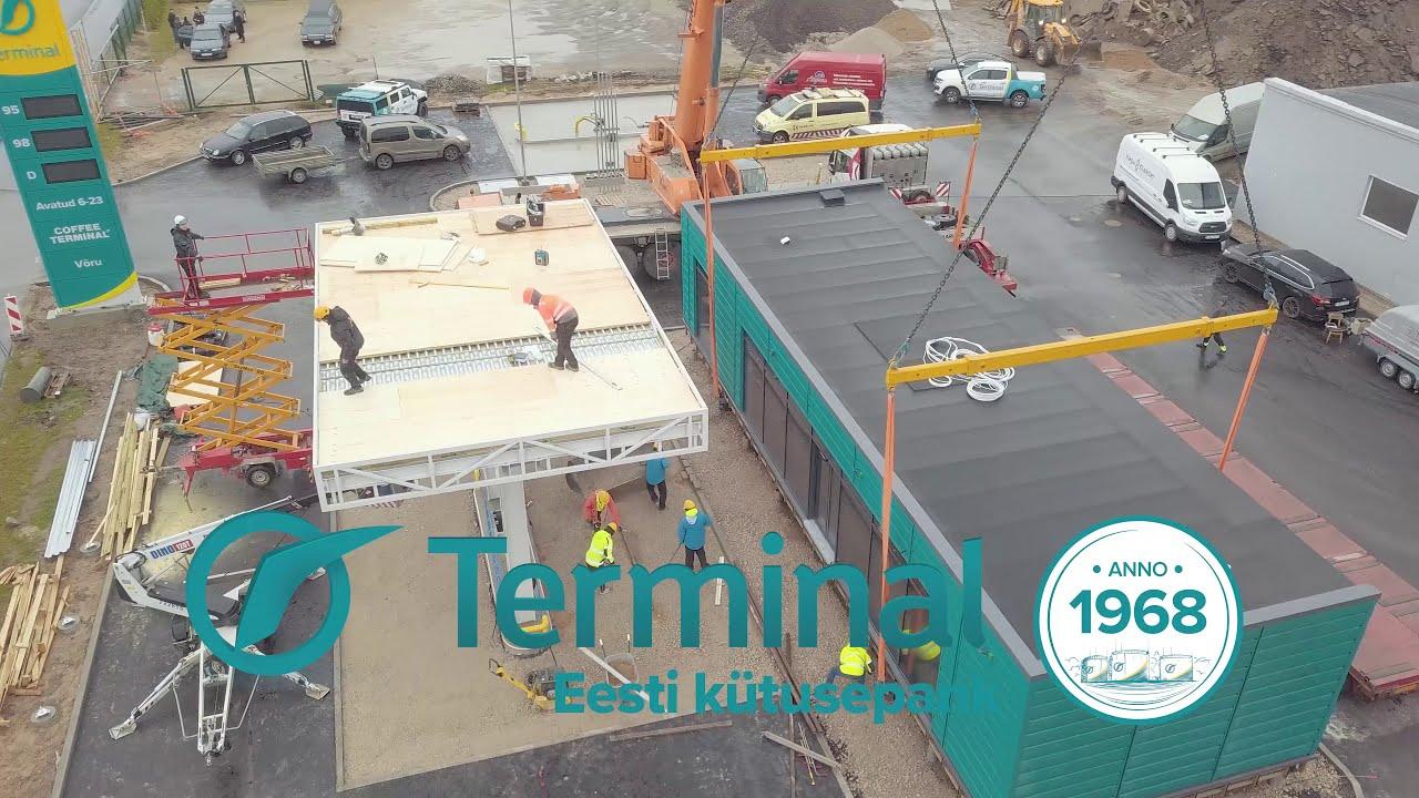 Terminal Oil Võru teenindusjaam 10.2020