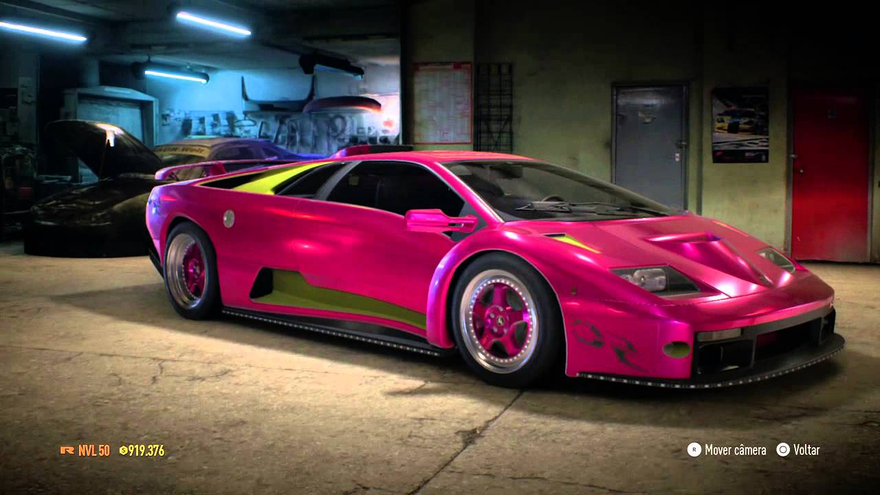 Need For Speed 2015 Lamborghini Diablo Sv 1999 Do Morohoshi Youtube