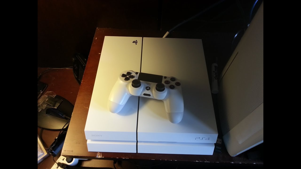 Destiny White Ps4 Console Unboxing! - YouTube