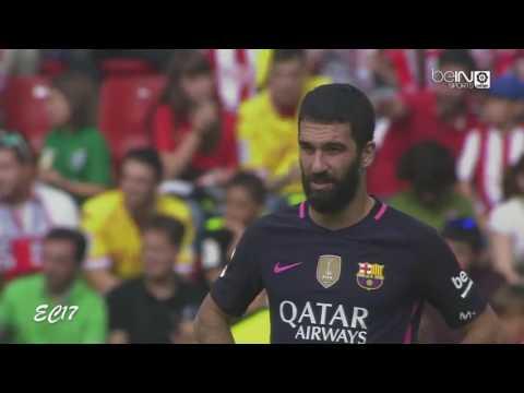 Arda Turan vs Sporting Gijon (Away) (24/09/2016) 720p HD by EC17