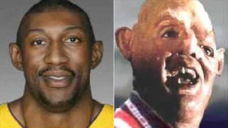 "Kobe Bryant thinks DJ Mbenga is Sloth from ""The Goonies"" - HEY YOU GUYS!"
