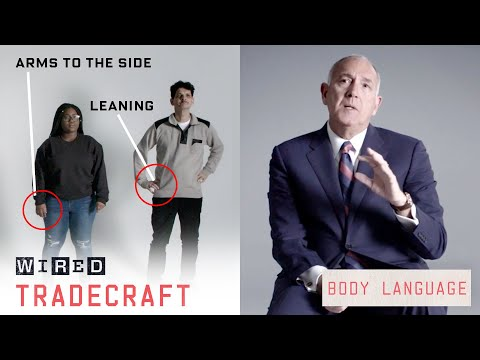 A former FBI spy catcher shows how to read body language