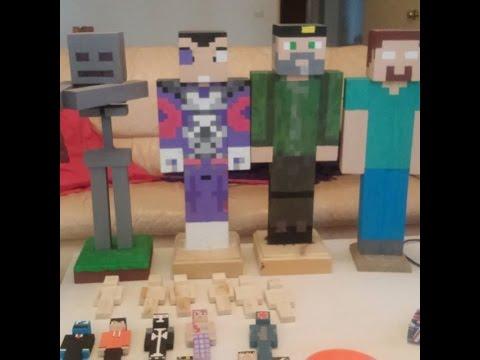 Minecraft en la vida real fabricados en madera cap 14 el for Videos de minecraft en la vida real
