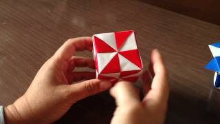 ORIGAMI : Mirage cube and Pinheel Cube