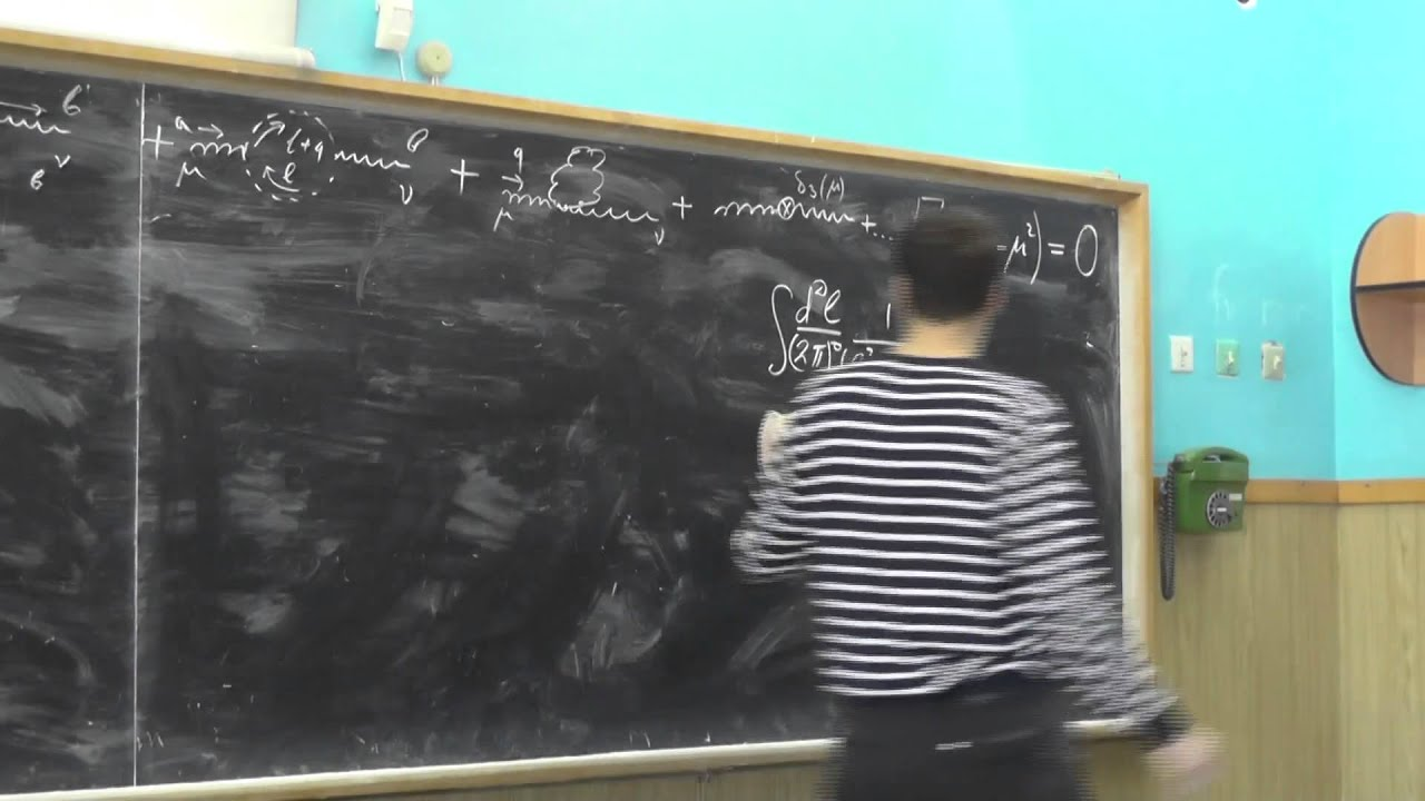 Теория сильных взаимодействий. А.В. Резниченко. Семинар 12