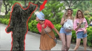 BUSHMAN SCARE PRANK 2019 🍀 THE BEST REACTIONS EVER  - Пранк: Живой куст