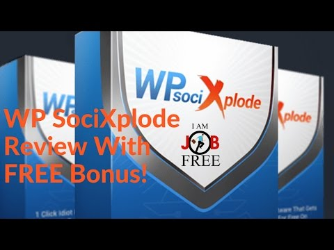 WP SociXplode Review with FREE Bonus (Gain 20-45 Leads Per Day using Twitter). http://bit.ly/2zkG6bc