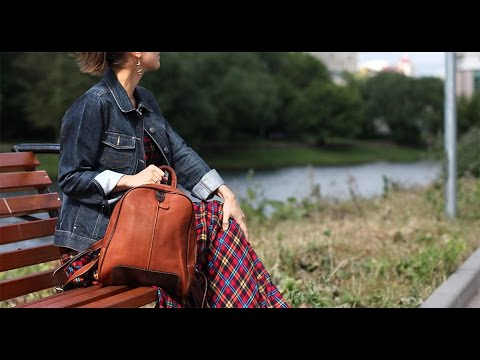 Рюкзак из натуральной кожи BPJ-09 Bufalo