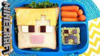 MINECRAFT Lunch Idea + Clatite Americane   Idei de pachetel