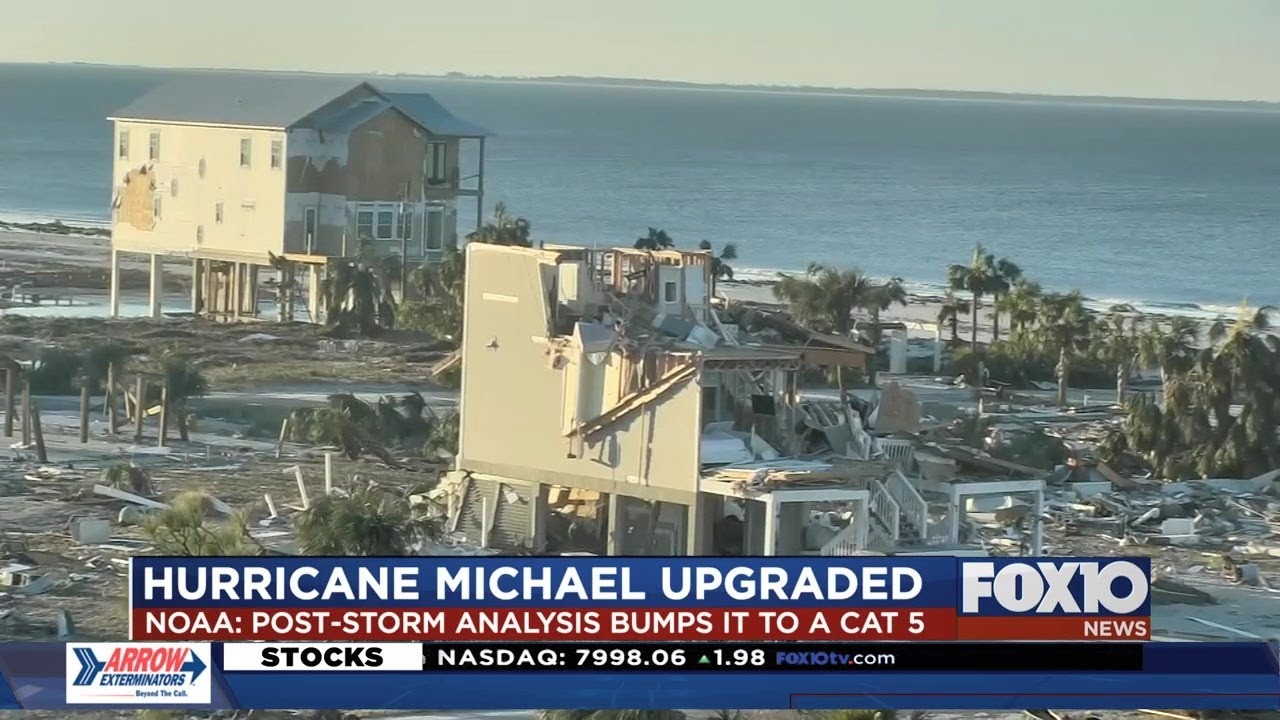 Hurricane Michael stronger than first thought when it made landfall