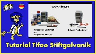 Tifoo Stiftgalvanik - Wie funktioniert die Hand- bzw. Stiftgalvanik?