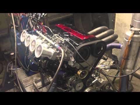 KSP Engines latest spec 2 0ltr vauxhall xe dyno run for mk2 escort