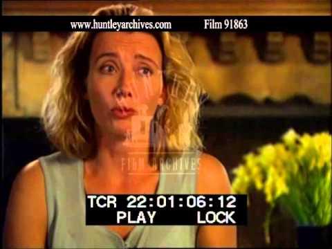 Emma Thompson Discussing 'Sense and Sensibility', 1990's - Film 91863
