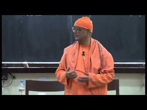 Science and Religion -Converging or Diverging?- Swami Atmapriyananda at IIT Kanpur
