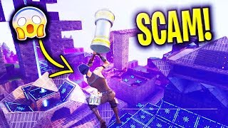 'NEW SCAM' The FLYING Hammer Scam BEWARE! Scammer Obtient EXPOSED dans Fortnite sauver le monde