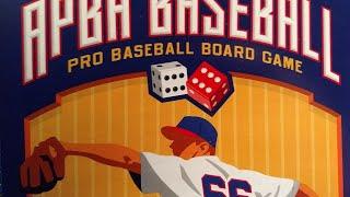 APBA Baseball - Basic Game Rules Breakdown and Gameplay