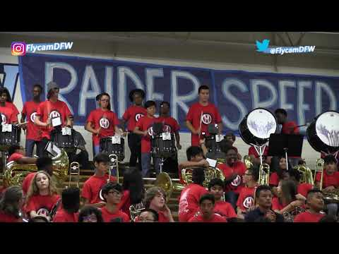 2017 Hurst Junior High School Pizza Feast Performance  (Pep Band performs)