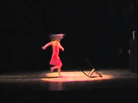 Азиза Ибрагимова - госэгзамен по танцу