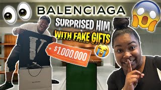 I Surprised DuB With $1500 Worth Of Gifts BUT They Wasn't His * HE GETS ANGRY *