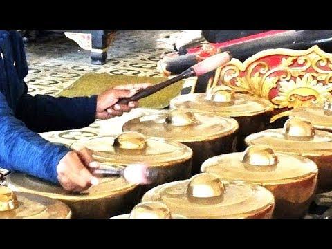 TROPONG BANG - Javanese GAMELAN Music Jawa - Gema PURA Jagatnatha - Budhalan WAYANG Kulit [HD]