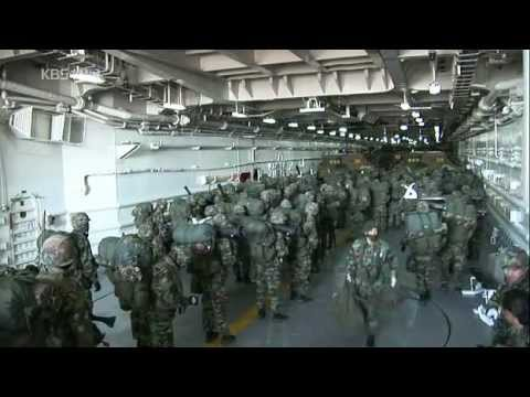 South Korea Marine - Regular practice & Basic Training