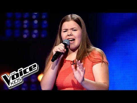 Julia Drożdżyńska - 'One Moment In Time' - Przesłuchania w ciemno - The Voice Kids 2 Poland