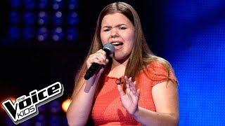 """Julia Drożdżyńska - """"One Moment In Time"""" - Przesłuchania w ciemno - The Voice Kids 2 Poland"""