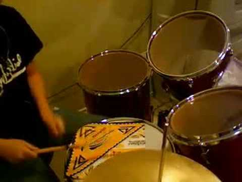 All or Nothing - Theory of a deadman (Drums by Michelle)