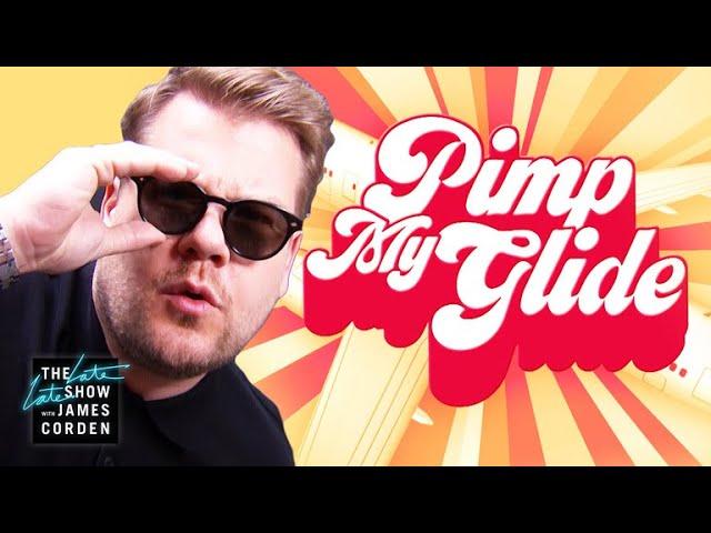 Pimp My Glide: James Corden's Airplane Makeover #LateLateLondon