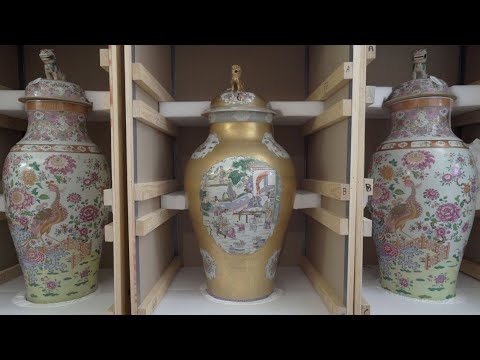 The Tibor Collection Of Chinese 'Soldier' Vases | Christie's
