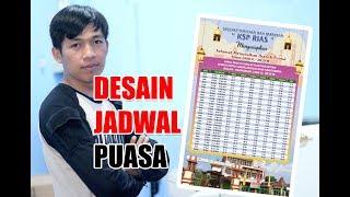 Gambar cover Desain Jadwal Puasa