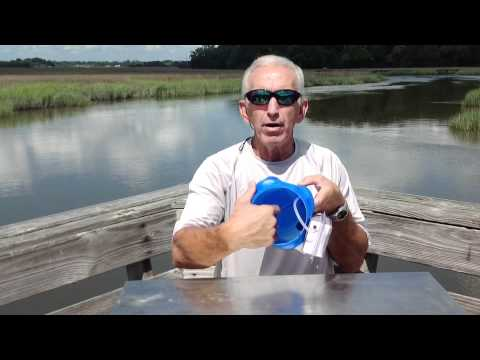 Captain Vincent shows how to make a Bait Bucket DIY easy way to keep your bait fresh!
