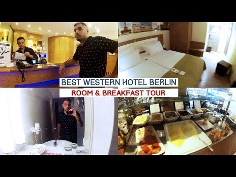 BEST WESTERN HOTEL BERLIN | ROOM & BREAKFAST TOUR