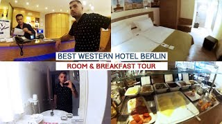 BEST WESTERN HOTEL BERLIN | ROOM & BREAKFAST TOUR