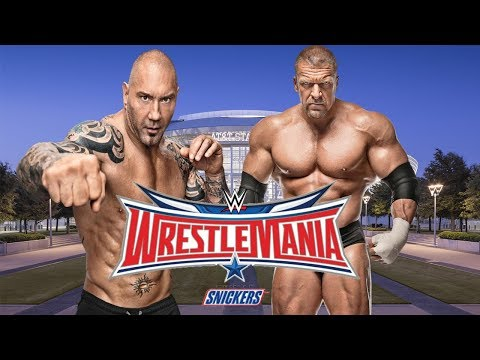 WWE: WrestleMania 32 Triple H vs Batista...