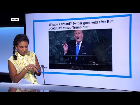 فرانس 24:War of unknown words: Kim Jong-un calls Trump a 'dotard'