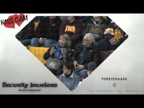 University of Minnesota Duluth Bulldogs vs Colorado College Hockey Kiss Kam Friday