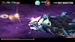 DARIUSBURST Chronicle Saviours (PS4) Exclusive CS Mode - Oruriba clear